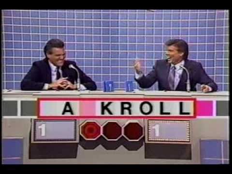 Scrabble with Chuck Woolery and game  hosts Part 1