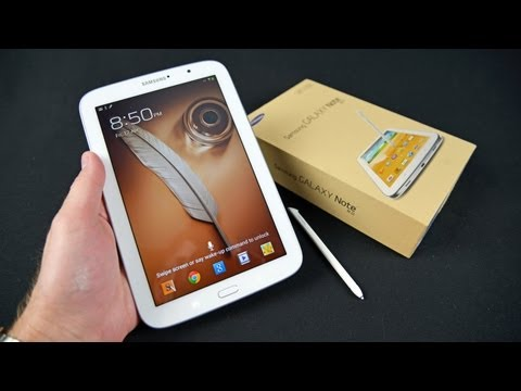 Samsung Galaxy Note 8.0: Unboxing & Review