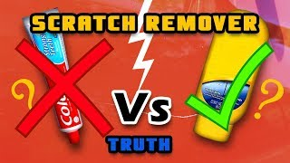 How to remove Scratches - Colgate vs Scratch Remover truth | best Scratch Remover for Car and Bikes