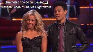 Eliminated Too Soon: Season 14 Roshon Fegan & Chelsie Hightower