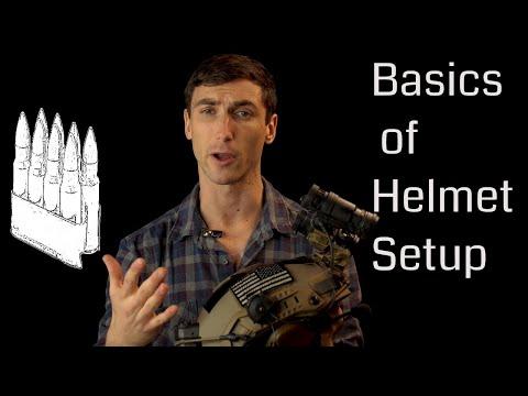 Basic Helmet Setup (Ops-Core Maritime Helmet)