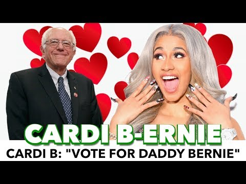 "Cardi B: ""Vote For Daddy Bernie"""