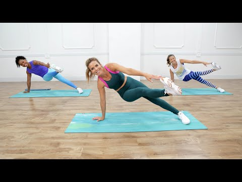 45-Minute Full-Body Sculpting Workout With Love Sweat Fitness
