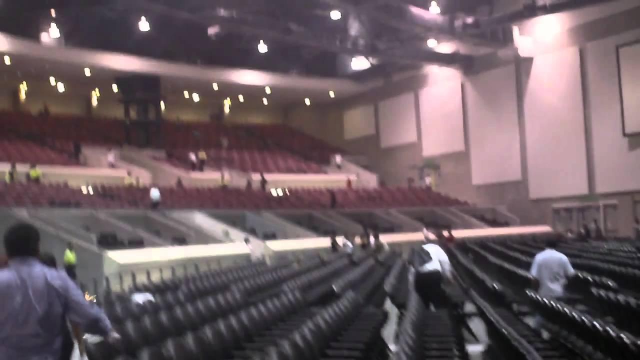 Recorrido dentro del Auditorio Banamex horas antes de su inauguraciu00f3n ...