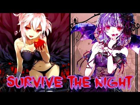 Nightcore - Survive The Night (Switching Vocals) || Lyrics