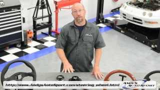 Steering Wheels Overview -- Presented by Andy