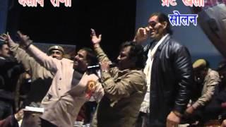 The Great Khali Dancing with Nati King Kuldeep Sharma