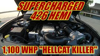 "1100 WHP Dodge Charger Scatpack | 426 SUPERCHARGED HEMI | HELLCAT KILLER! - ""UNIQUE BUILDS"" SERIES"