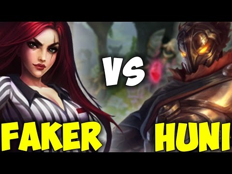 Faker Katarina vs Huni Viktor ( Who Will Win? )