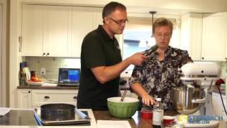 Baking Gluten Free Pumpkin Cheese Cake With Jeanine Friesen