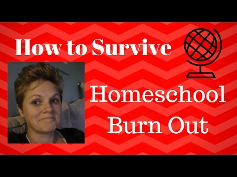 Homeschool || How to Not Burn Out from Homeschooling