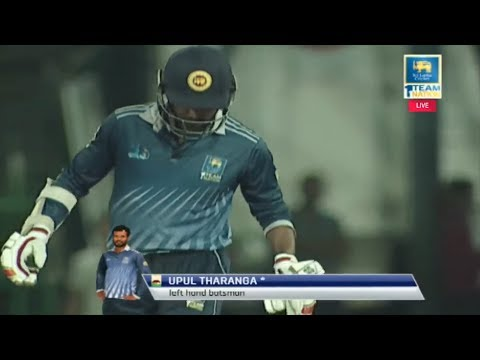 Upul Tharanga's century in the SLC T20 League Final.