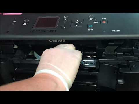 Removing Canon Printhead