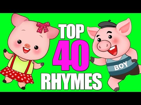 Top 40 Nursery Rhymes Songs | THE BEST Nursery Rhymes Songs For Kids