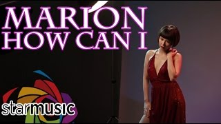 marion   how can i official music video