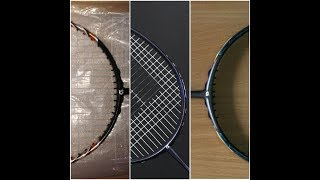 apacs badminton rackets unboxing and review