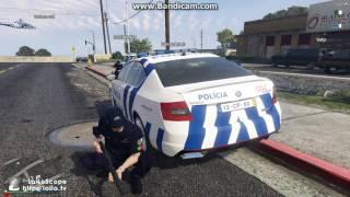 GTA 5 FiveM RP RolePlay Portugal Policia PSP Patrol