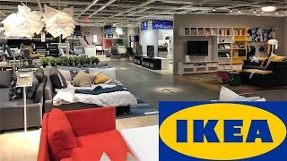 IKEA SHOP WITH ME FURNITURE SOFAS BEDS KITCHEN - STORE WALK THROUGH 4K