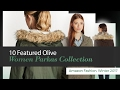 10 Featured Olive Women Parkas Collection Amazon Fashion, Winter 2017