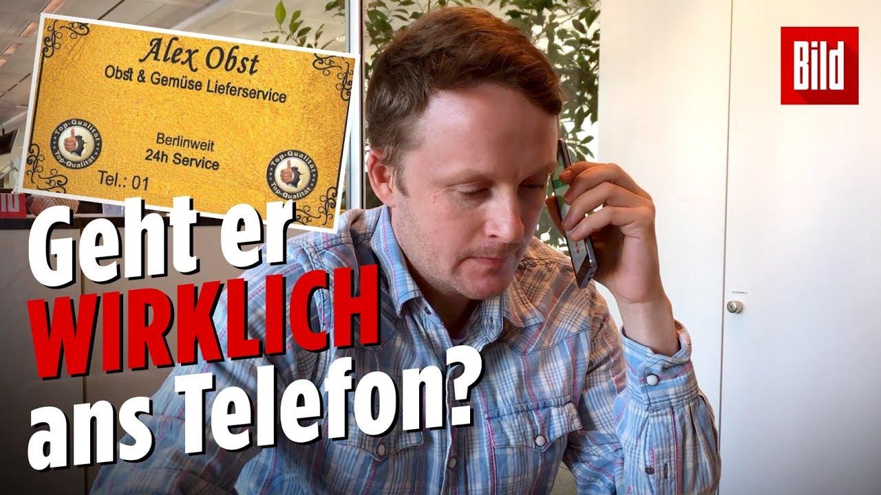 Drogenkauf Per Visitenkarte Obst Lieferservice Ob Alex Obst Ans Telefon Geht