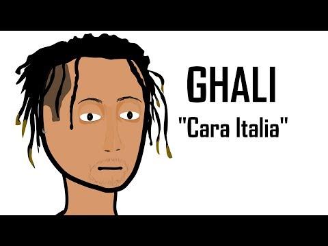 GHALI e ' CARA ITALIA '  in - QUANDO UNA CANZONE DIVENTA VIRALE - Parodia cartone