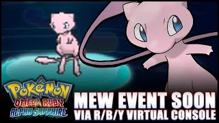 mew event coming to pokmon or as x y early 2016 details confirmed