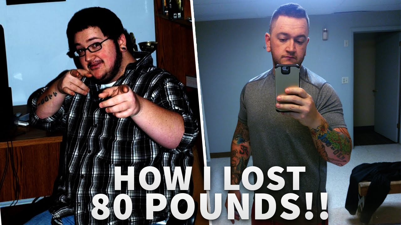 How I Lost 80 Pounds Weight Loss Motivation Youtube
