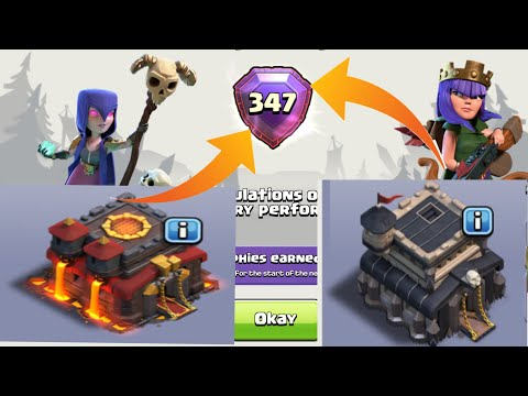 Become a Legend League Player as Town Hall 9 & 10 in Clash Of Clans