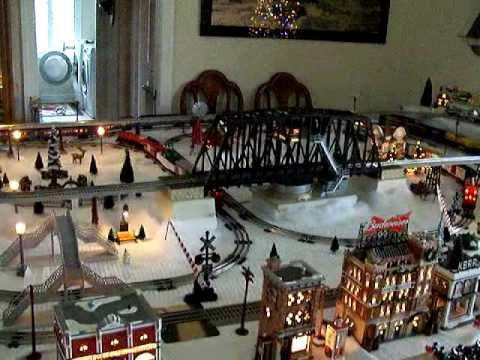 2009 Lionel Train Layout YouTube