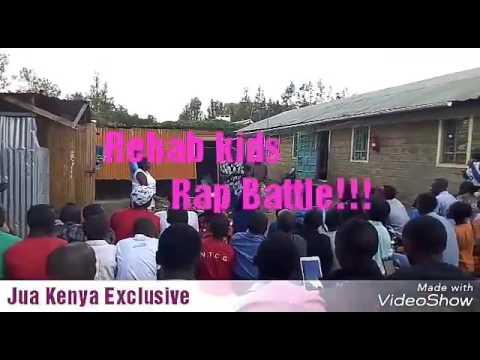 Rehab kids Rap Battle. Talented Rap Battles in Kenya's Rehabilitation center.