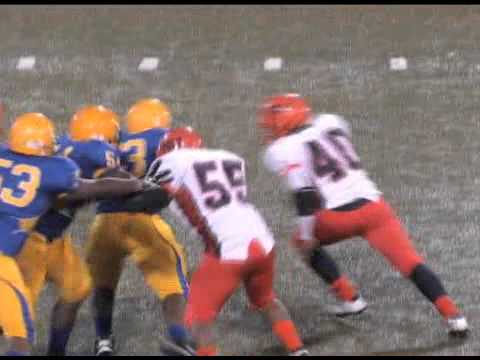 FOOTBALL HIGHLIGHTS: LB/DL Rasheed Tynes (Poly) v Mervo 10-28-2011