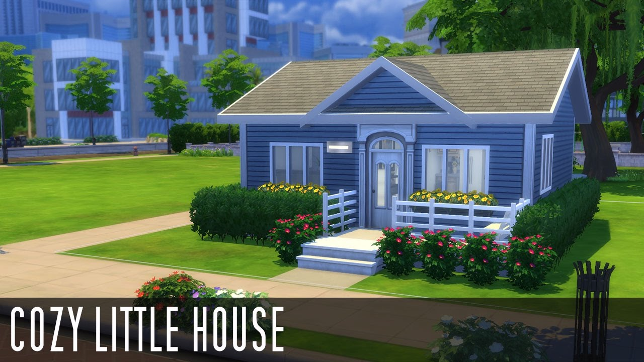 The sims 4 speed build cozy little house