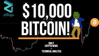BITCOIN HITS $10000 - NEW LAW USING BLOCKCHAIN TO TRACK MEDICAL SUPPLIES