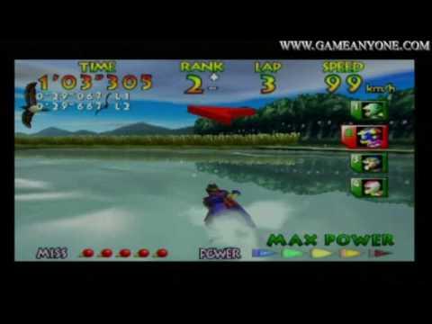 Wave Race 64 - [N64 - HD] - Drake Lake - [Expert]