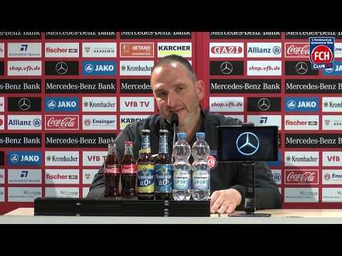 Die Pressekonferenz nach dem Auswärtsspiel beim VfB Stuttgart