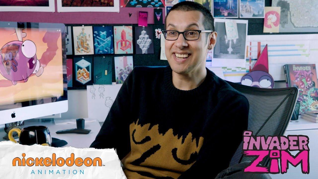 Invader Zim | Meet the Creator: Jhonen Vasquez | Nick ...