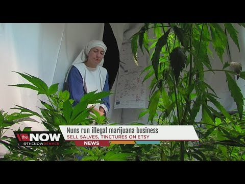 Nuns break the law by growing and selling marijuana illegally