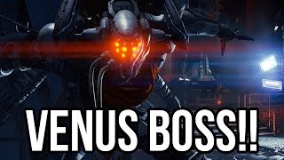 Destiny - FIRST VENUS BOSS BATTLE!! (Strike Campaign PS4 Gameplay 1080p HD)
