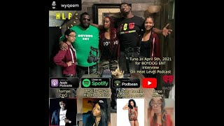 Ceo Thomas, DestinyMuah, Ashley Noelle and Rose on Heat Level Podcast Interview
