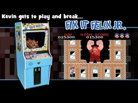 wreck it ralph arcade machine