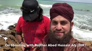 Hafiz Ahmed Raza Qadri - Shooting of New Manqabat 2018 - MOLA ALI R.A