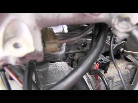 Mercedes Diesel Engine Idle Speed Adjustment