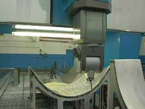 Tarus Gantry 5 Axis Milling Machine For Aero E Ands