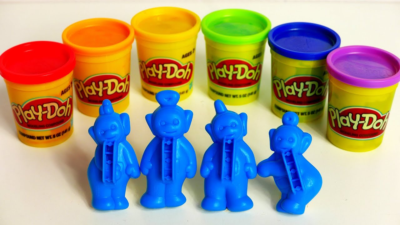 teletubbies play doh playset for kids youtube. Black Bedroom Furniture Sets. Home Design Ideas
