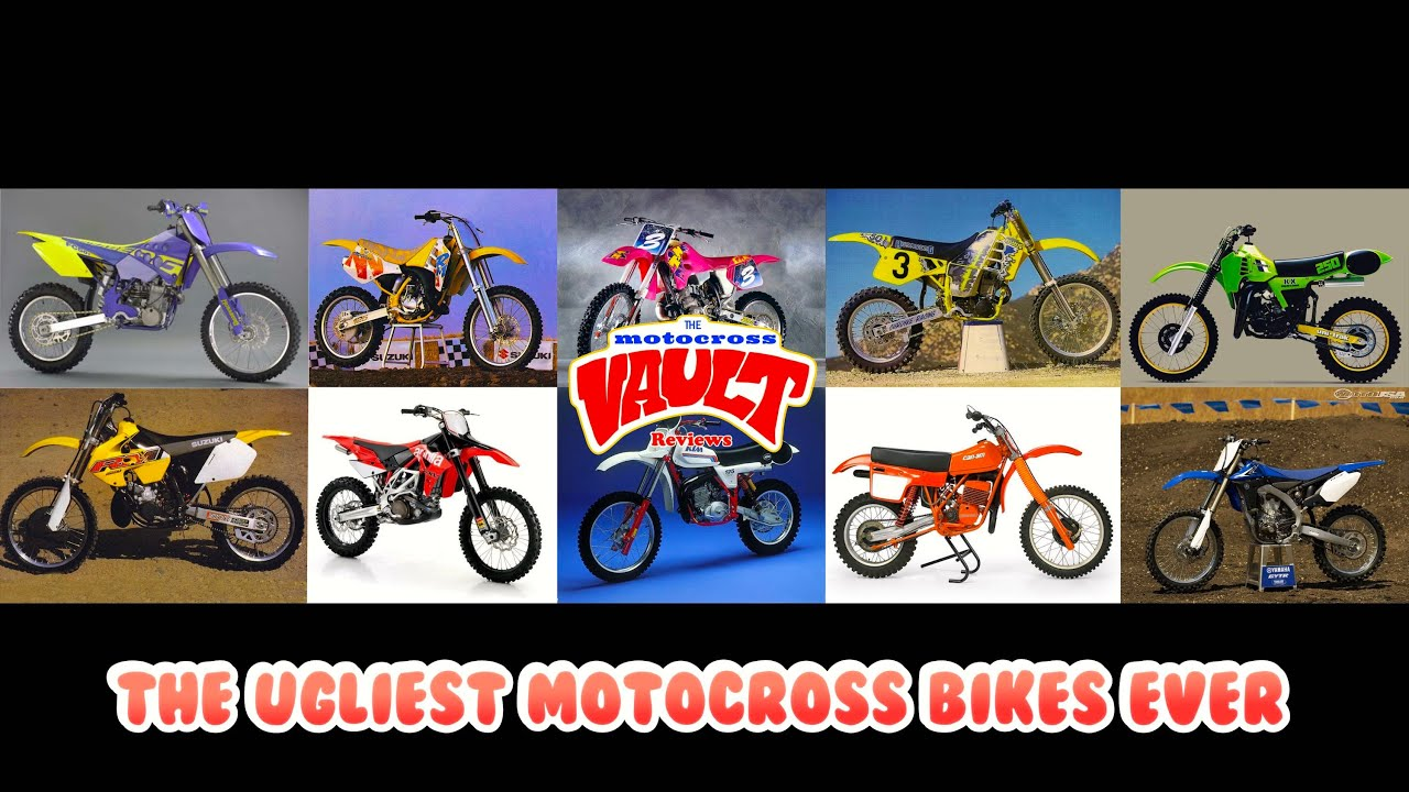 The Ugliest Motocross Bikes Ever