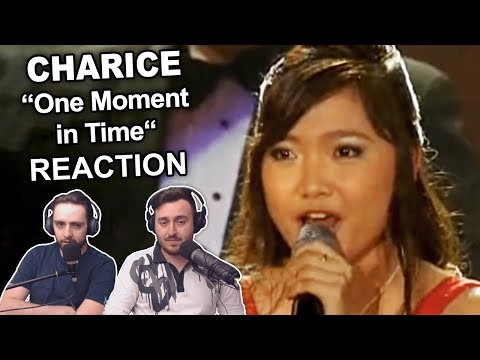 """Charice - One Moment in Time"" Singers Reaction"
