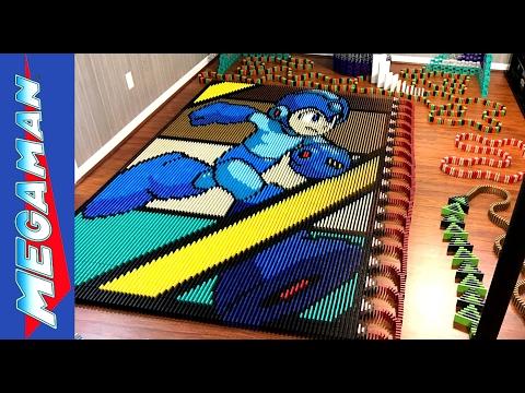Mega Man (IN 24,922 DOMINOES!)