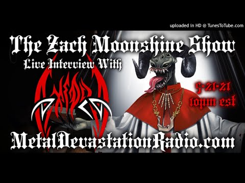 Axedra - Interview 2021 - The Zach Moonshine Show