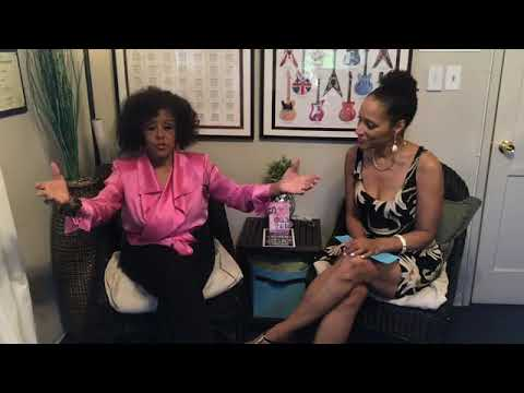 Former Supreme, Scherrie Payne, on Karla Dawn LIVE talk show on singing, Motown, screen/play writing