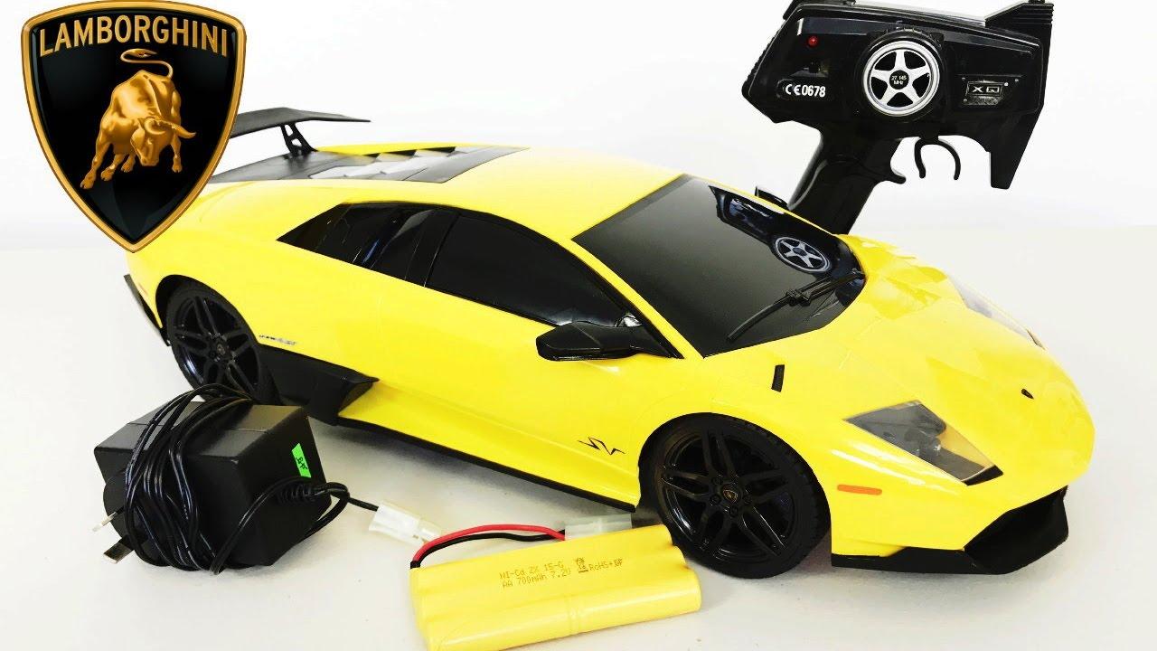 Lamborghini Murciélago Lp670-4 RC Remote Control Super Car